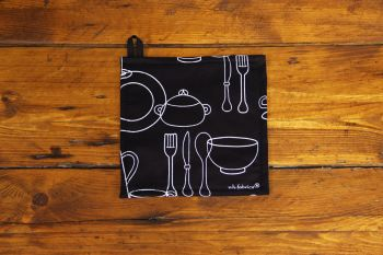 Agarradera Kitchen Negro