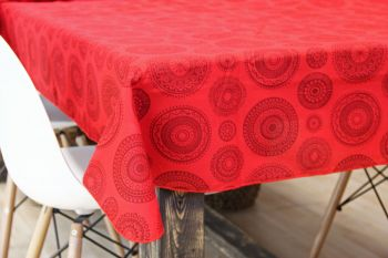 Mantel Tribal 1,50 x 2,00 mts Rojo