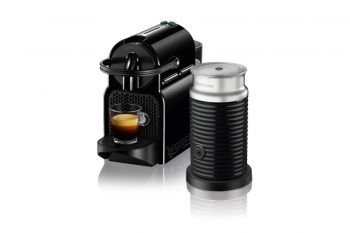 Pack Inissia Black and Aeroccino3 Black+6 Tazas Double Espresso