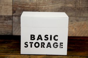 Caja Basic Storage Blanco
