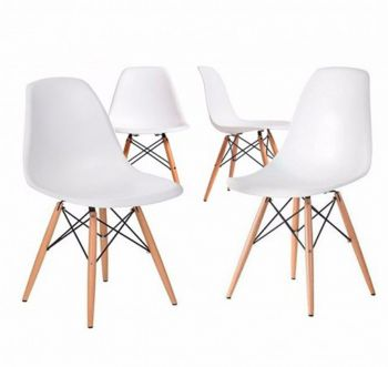Pack 4 Sillas Eames