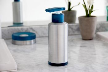 Dispenser Aluminio Azul